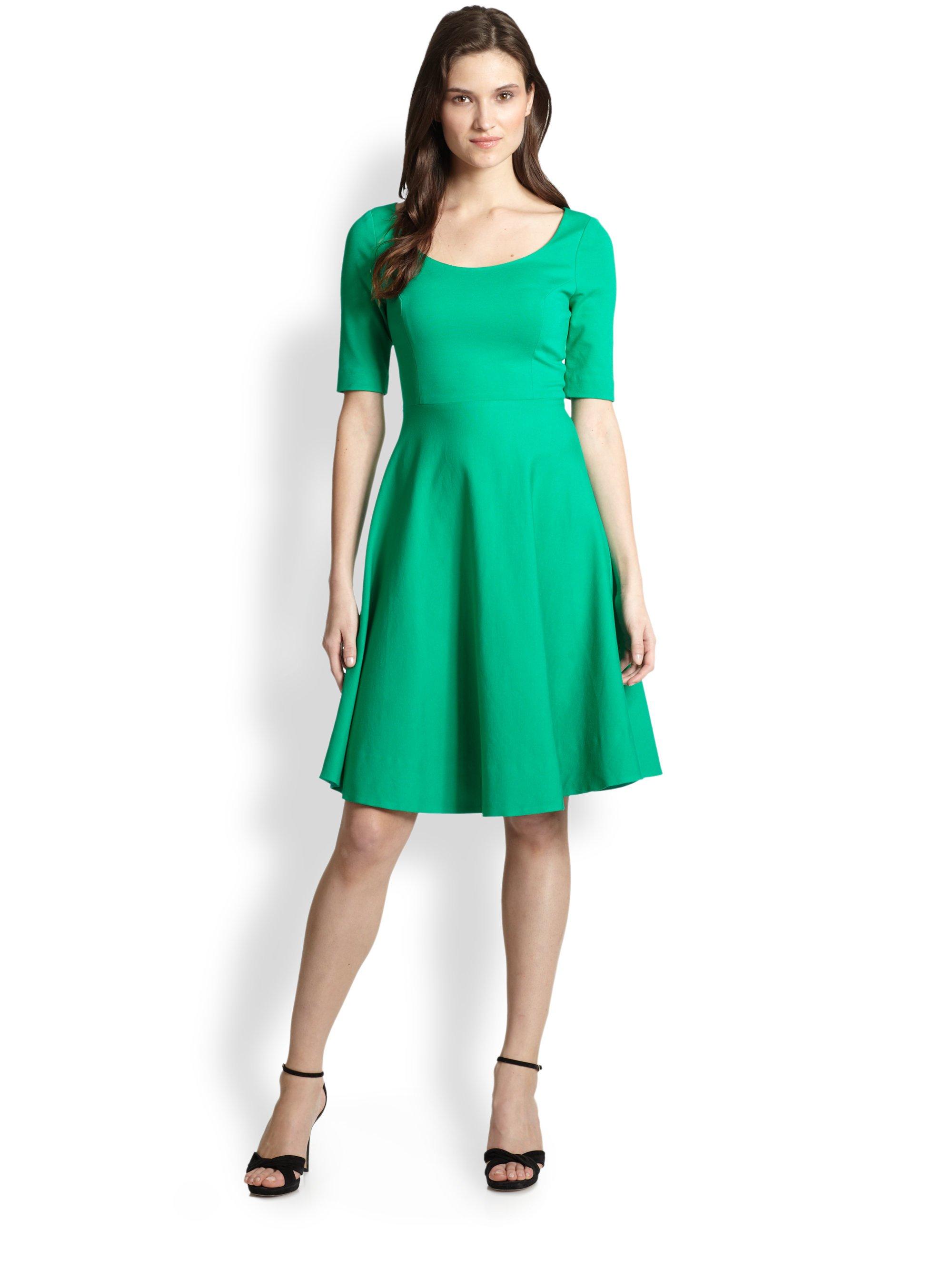 Lyst Kate Spade New York Jada Dress In Green