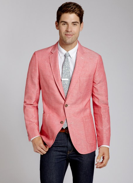 Lyst Bonobos Oxley Blazer In Red For Men