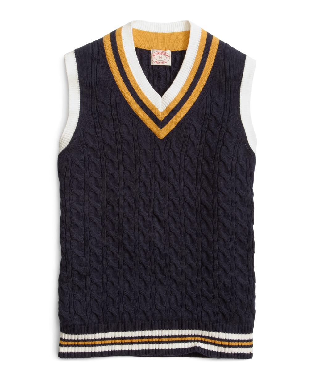 Lyst Brooks Brothers Cricket Vest In Blue For Men