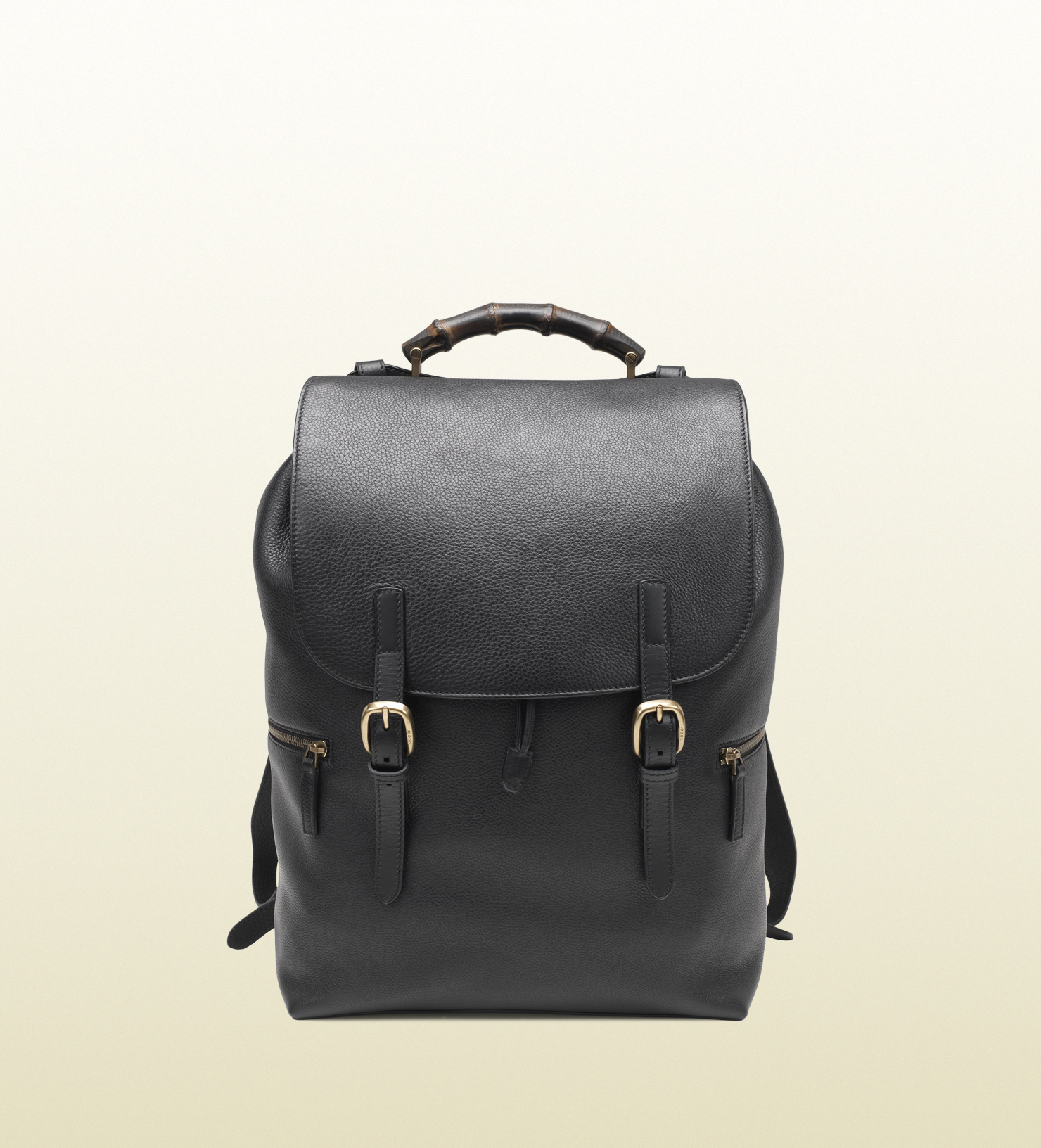 Gucci Black Leather Backpack in Black for Men - Lyst 839bd1b4f88e1