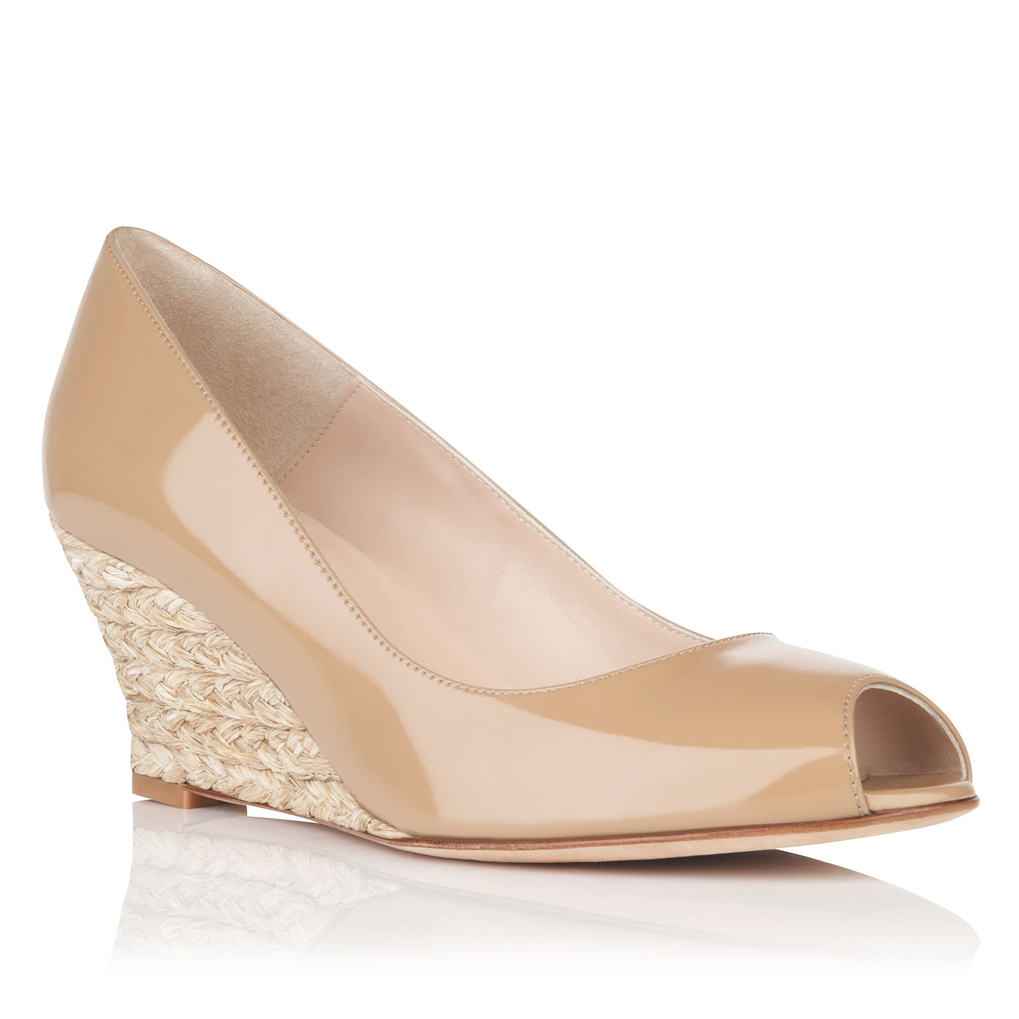 Womens Taupe Evening Shoes