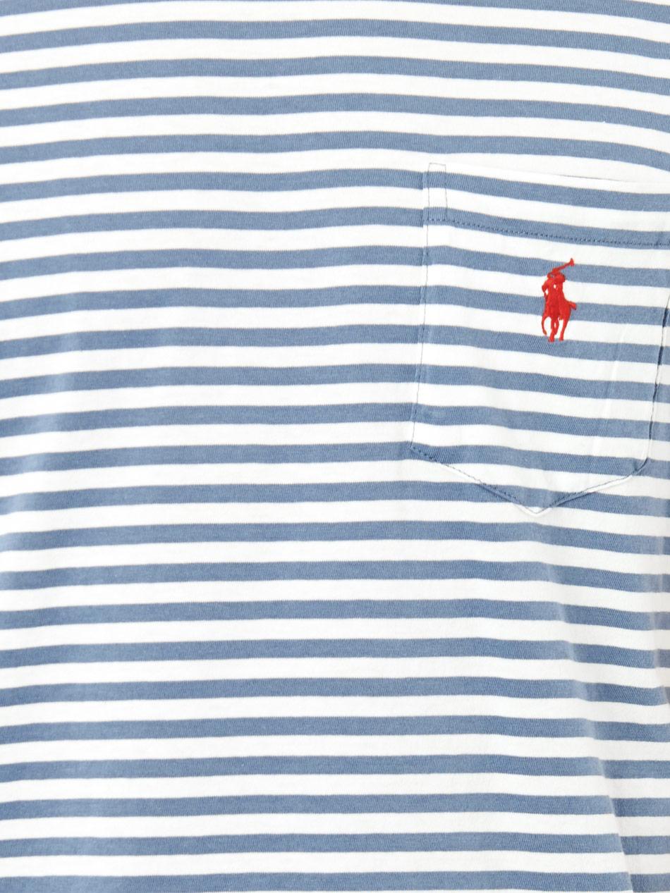 Art Ralph Striped T Lauren Polo Pocket ShirtToffee OwnPk80