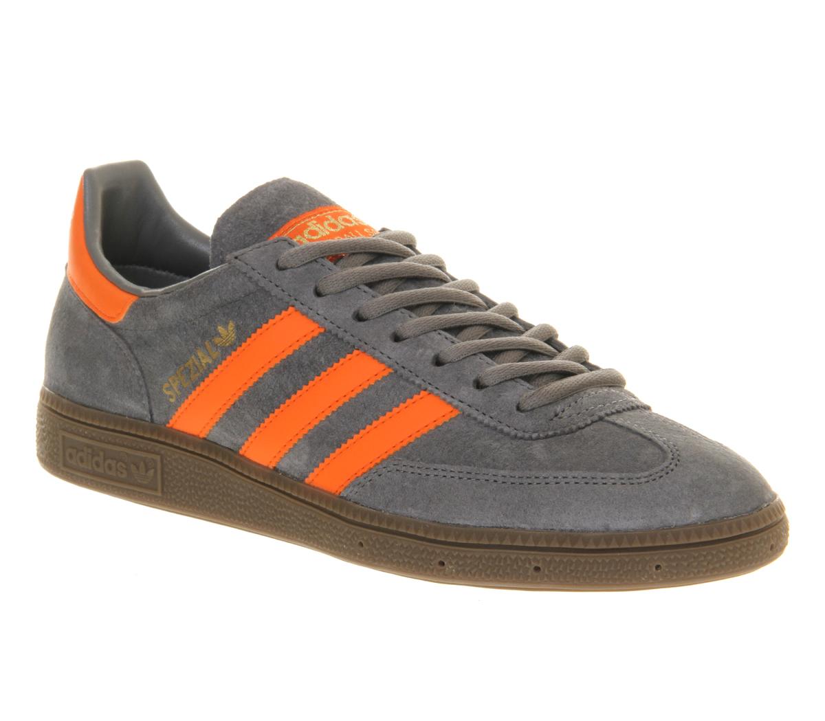 sentar gastos generales esférico  adidas Spezial Grey Orange in Gray for Men - Lyst