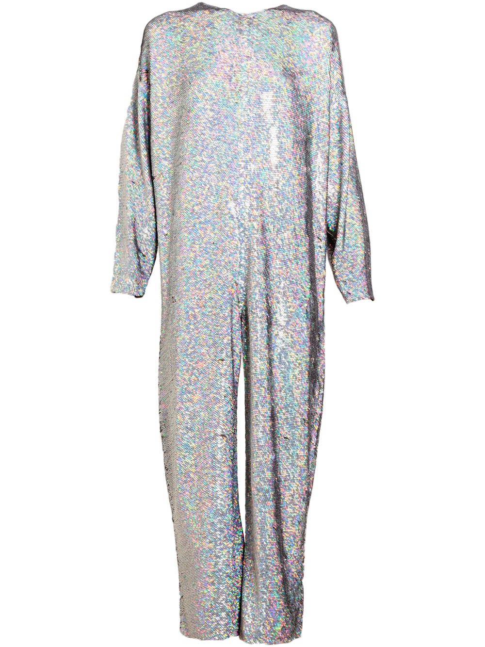 25d702084d5 Lyst - Ashish Holographic Sequin Jumpsuit in Gray