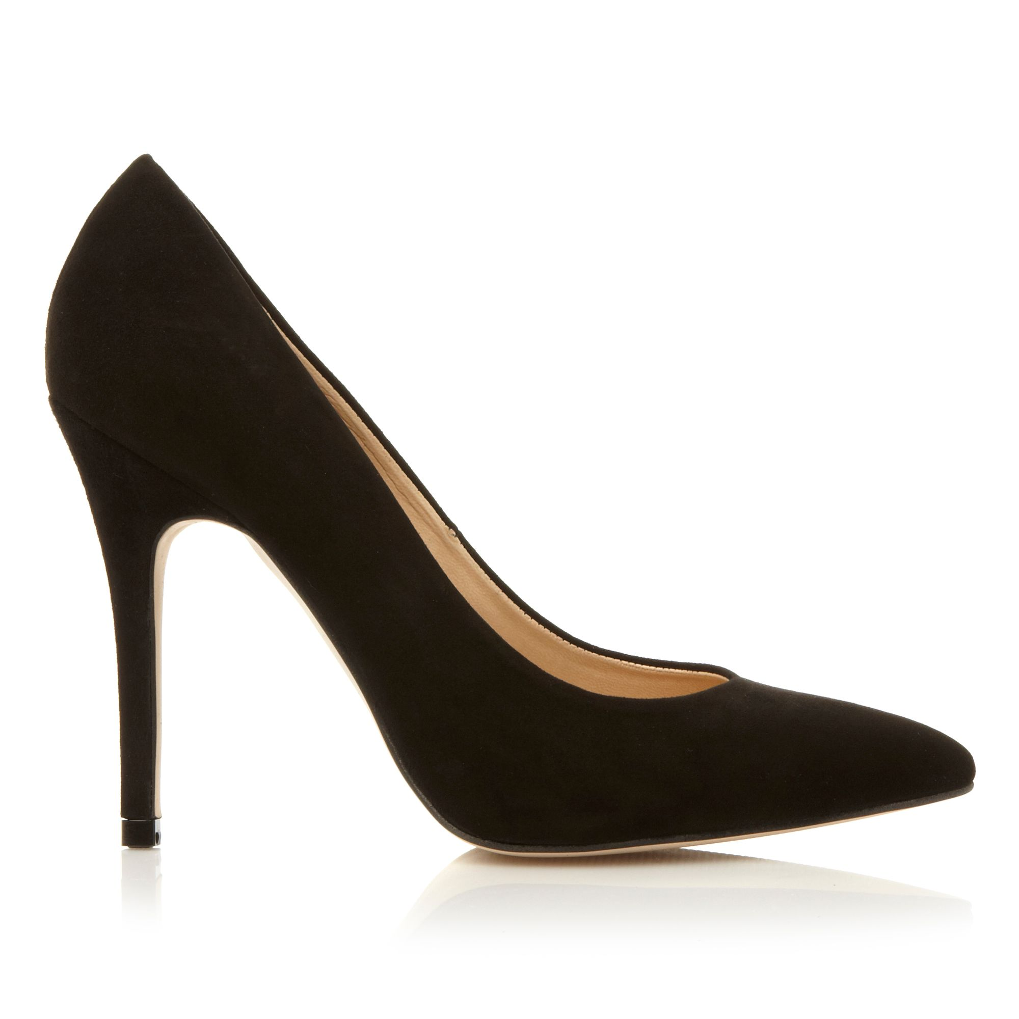 dune alvino pointed court shoes in black lyst