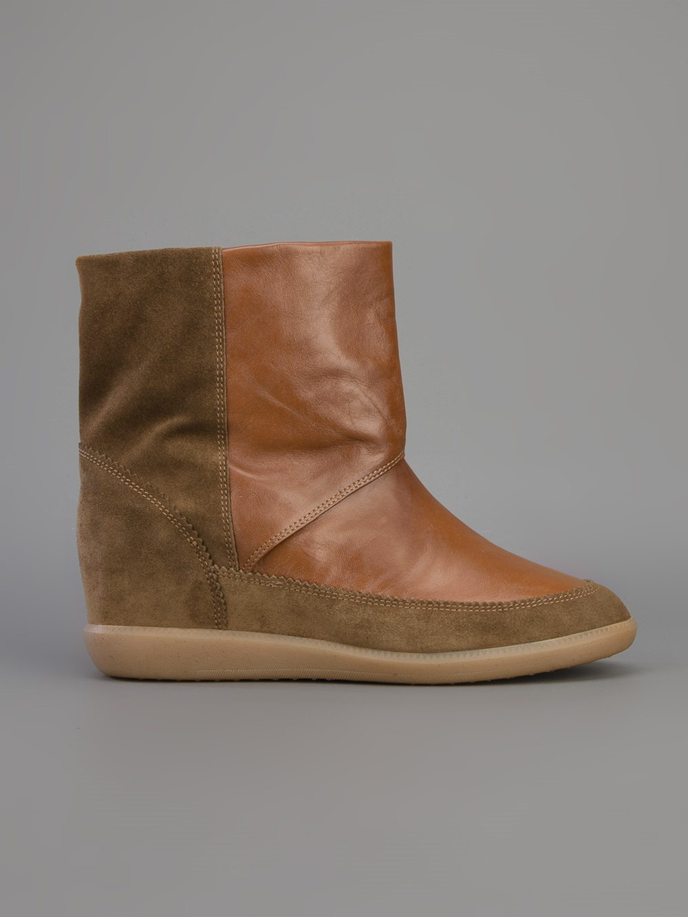 Étoile Isabel Marant Nuty Boots in Brown