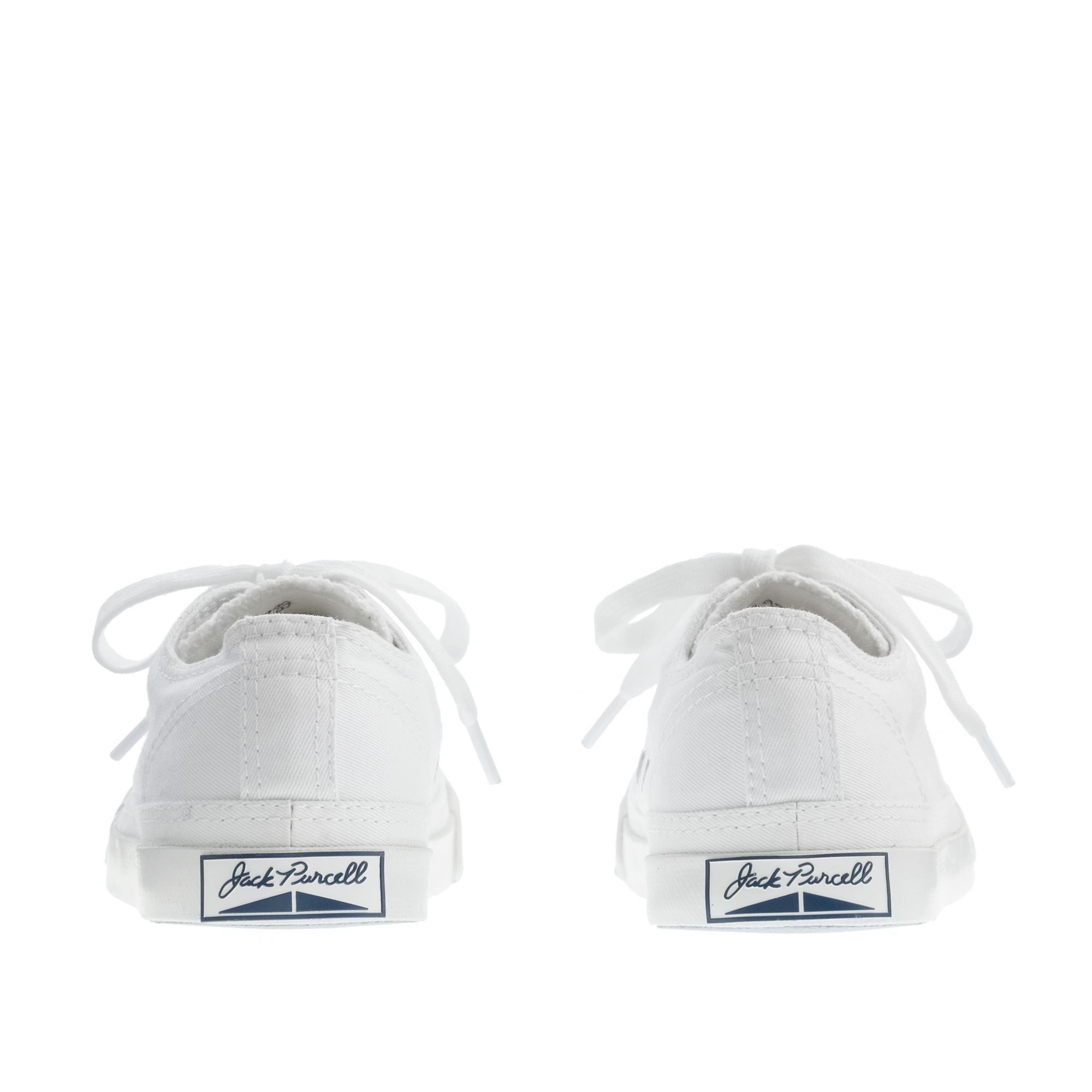 J Crew Kids Converse Jack Purcell Lowtops In White Lyst