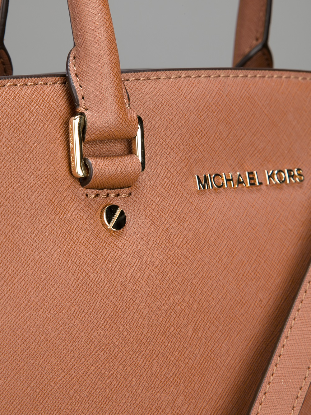 MICHAEL Michael Kors Selma Tote in Brown
