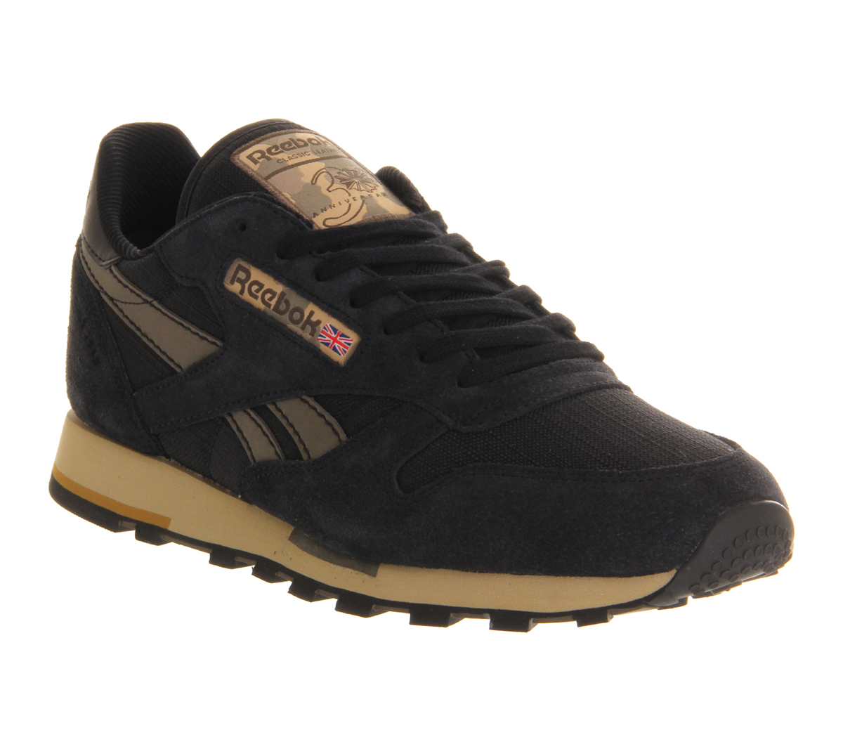 ed45d478bceceb Lyst - Reebok Cl Leather in Black for Men