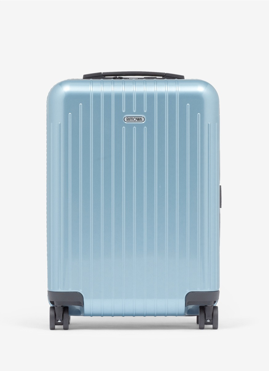 rimowa salsa air ultralight cabin multi wheel iata ice blue 34litre in blue lyst. Black Bedroom Furniture Sets. Home Design Ideas