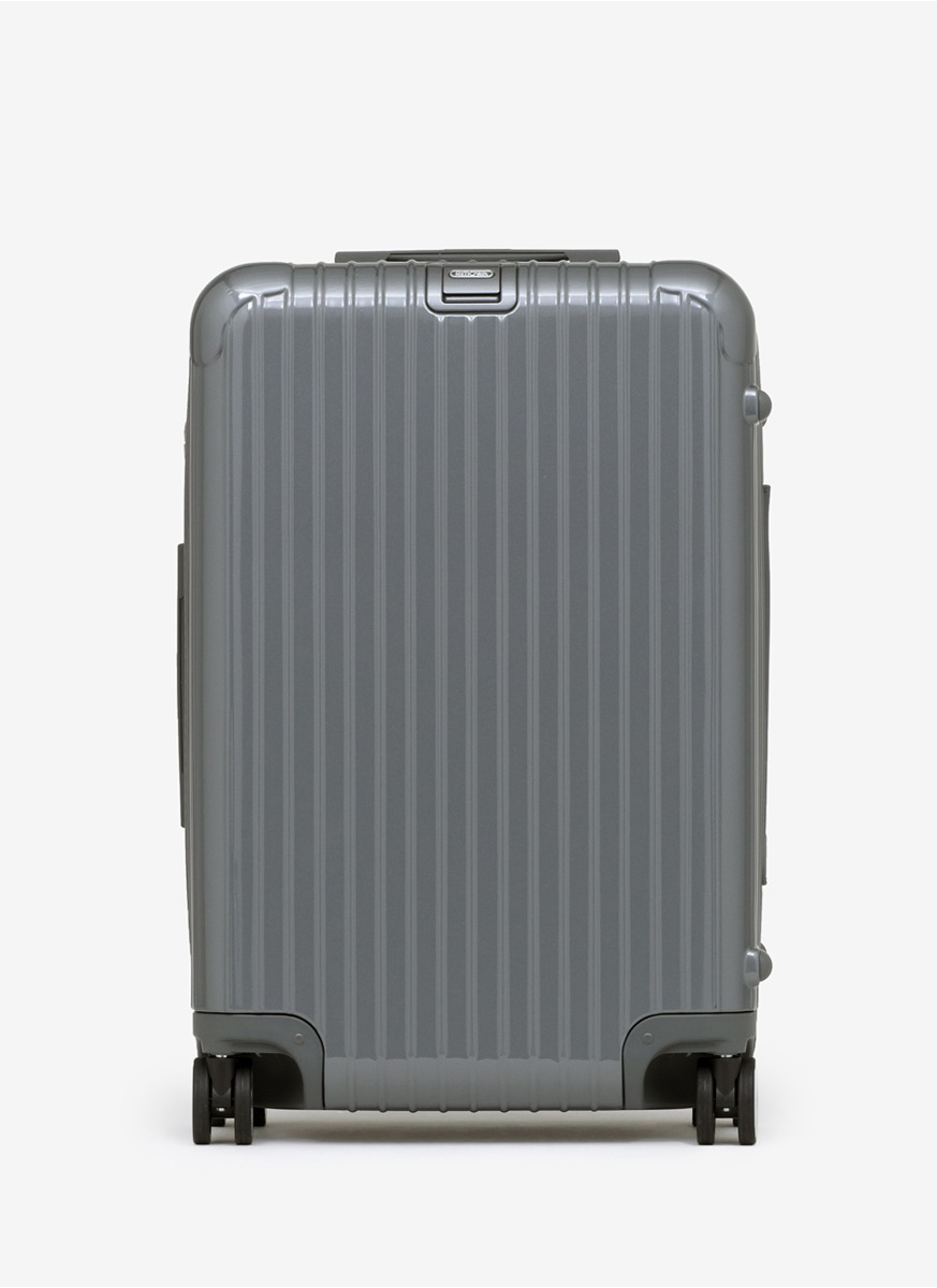 rimowa salsa deluxe multi wheel seal grey 61litre in gray grey lyst. Black Bedroom Furniture Sets. Home Design Ideas