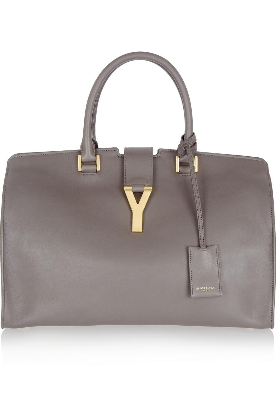 yves st. laurent wallet - y ligne soft leather bag, red