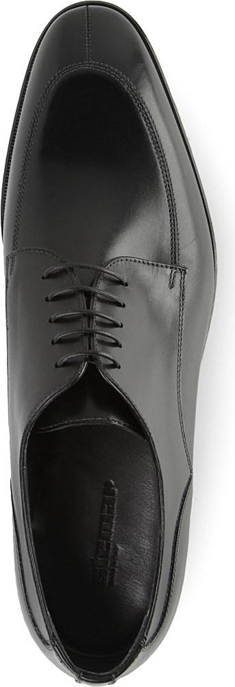 Stemar Split Toe Derby Shoes in Black for Men