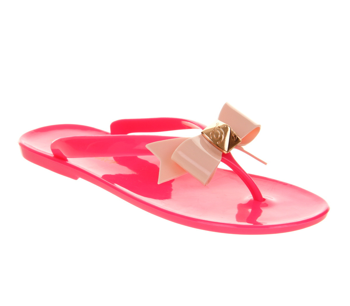 3f8a45e4f0e0 Lyst - Ted Baker Polee Flip Flop in Pink