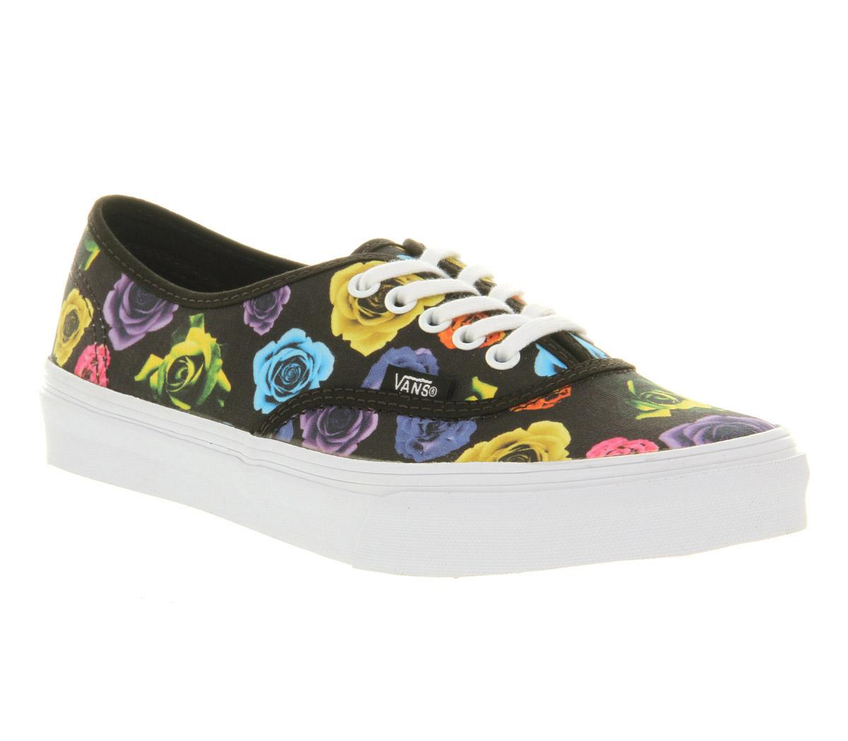 Vans Rose Shoes