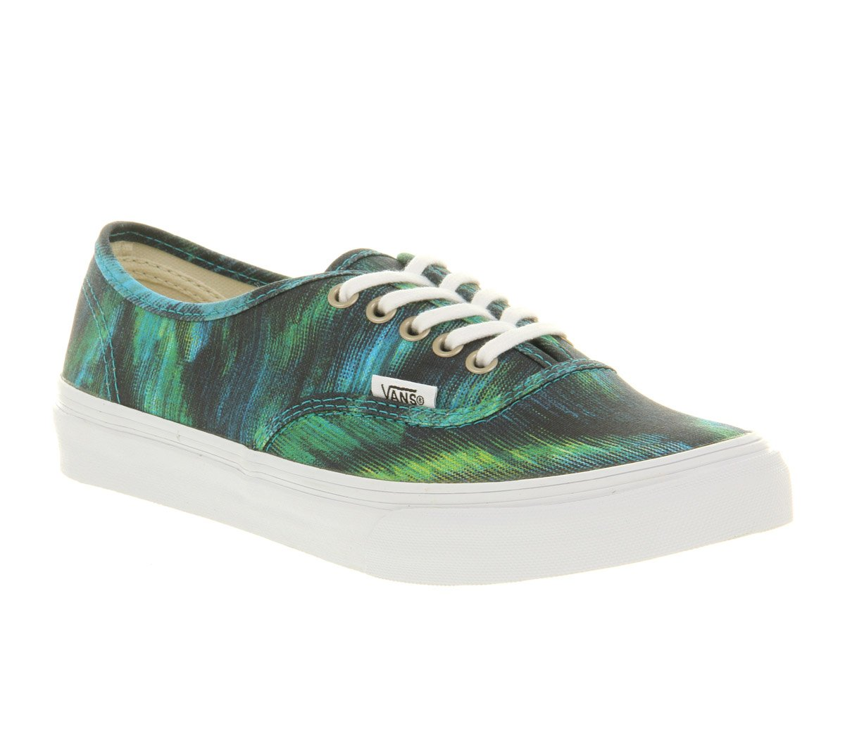 Vans Authentic Slim Water Colour Teal in Green for Men | Lyst