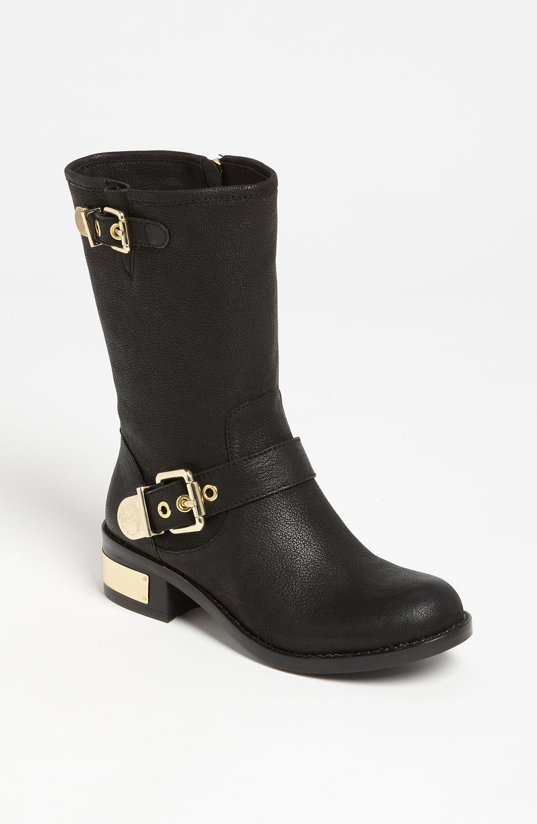 vince camuto winchell boot in black lyst