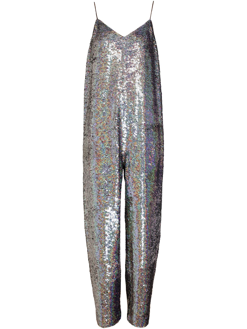 Ashish Holographic Sequin Jumpsuit in Metallic | Lyst