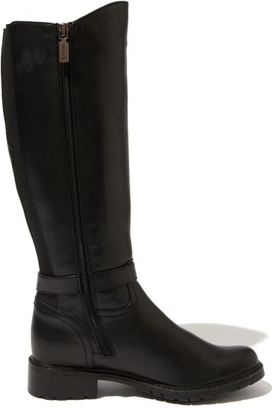 Blondo Viviane Waterproof Boot Wide Calf In Black Lyst