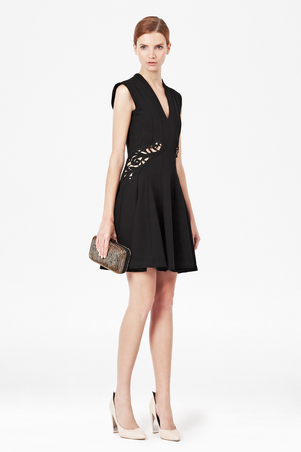French connection short dress in black lyst for French connection shirt dress