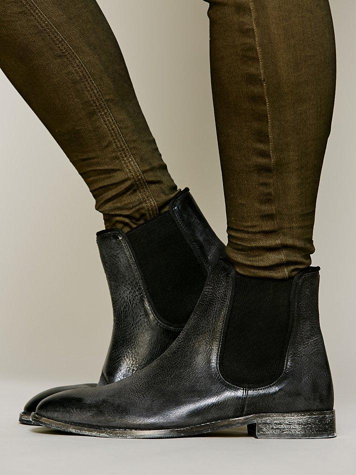 liebeskind remington chelsea boot in black lyst. Black Bedroom Furniture Sets. Home Design Ideas