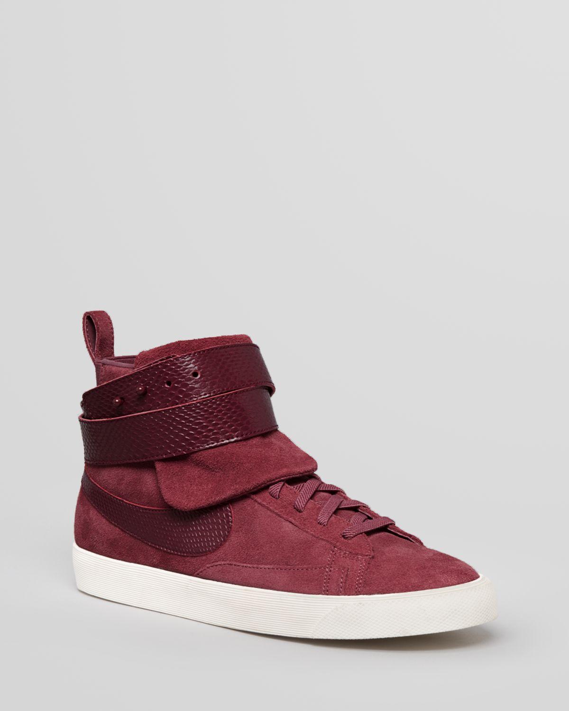 nike high top sneakers - blazer twist suede boots