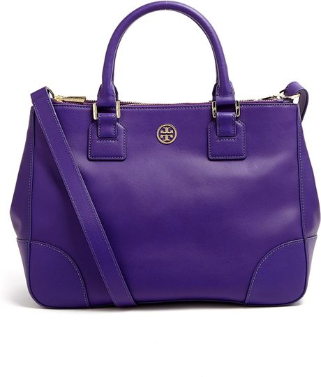tory-burch-purple-electric-purple-robinson-double-zip-tote-bag-product ...
