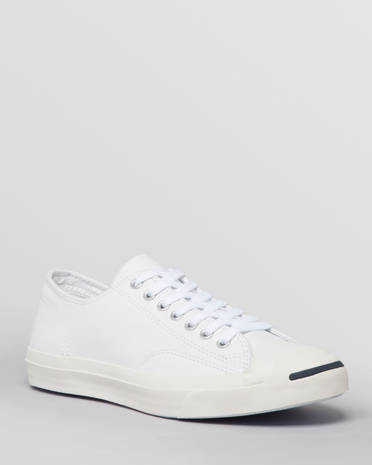Converse Quot Jack Purcell Quot Leather Sneakers In White For Men