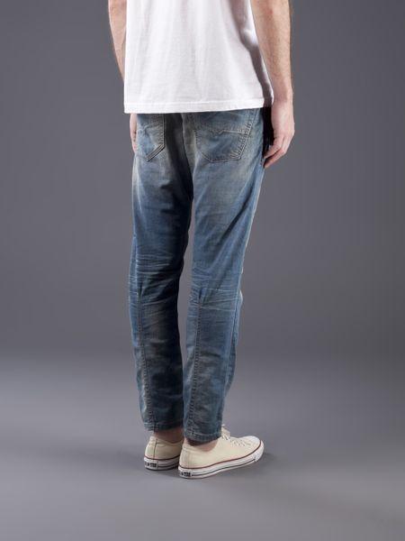 diesel krooley jogg jean in blue for men lyst. Black Bedroom Furniture Sets. Home Design Ideas