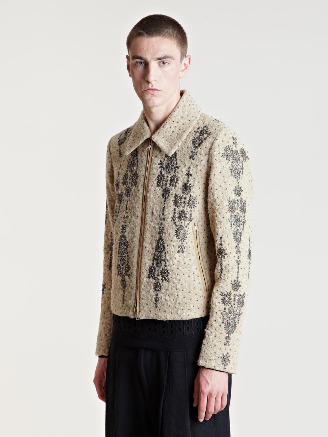 Lyst Dries Van Noten Mens Venturo Jacket In Natural For Men