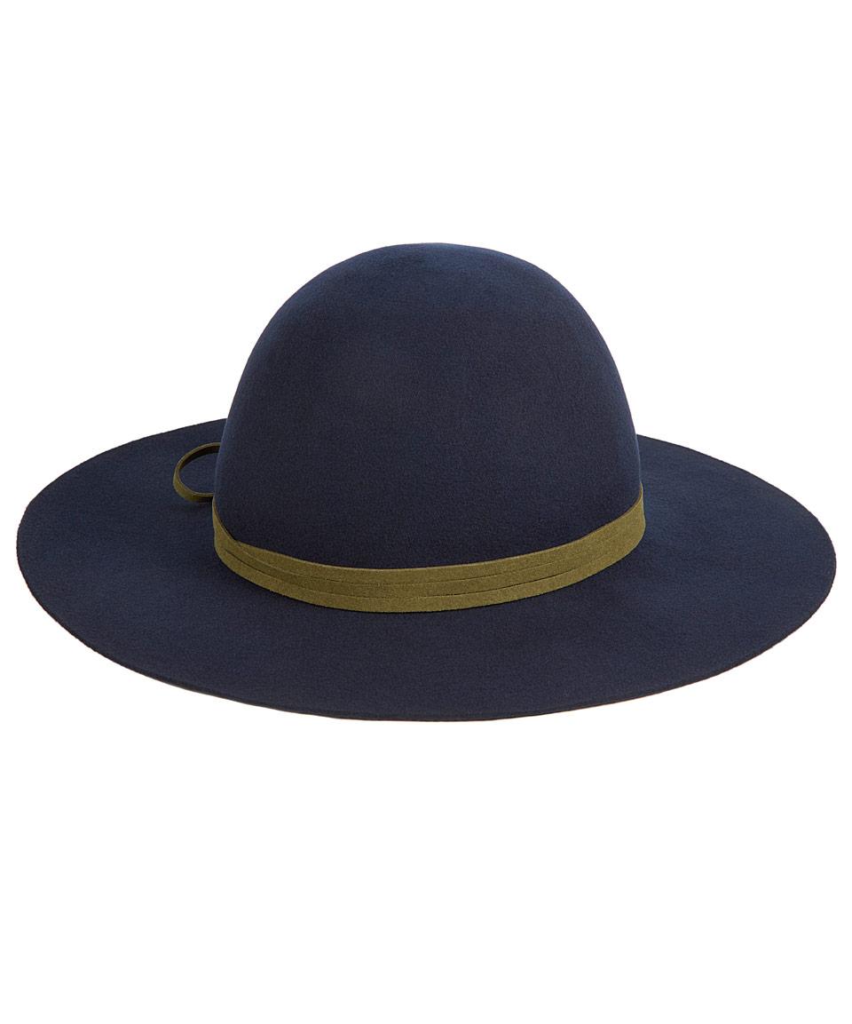 1dfebe8a96d Hat Attack Navy Felt Round Floppy Hat in Blue for Men - Lyst