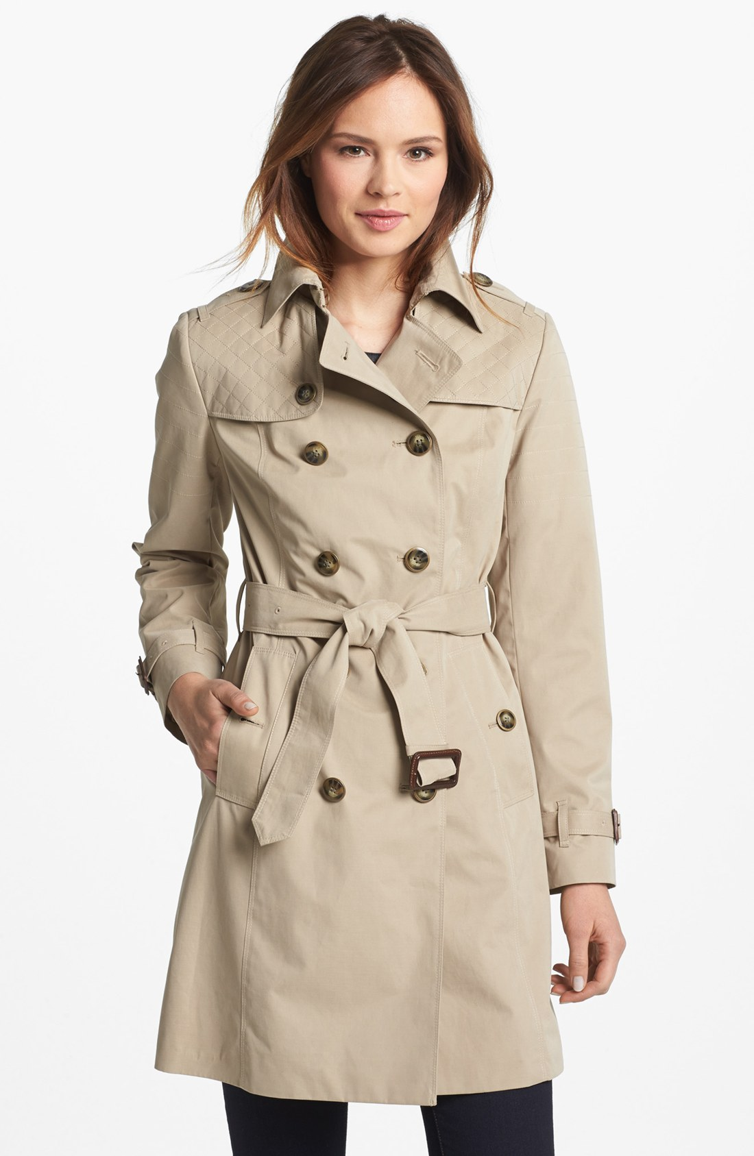 Women S London Fog Trench Coat Photo Album - Reikian