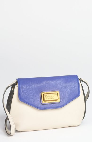 Marc By Marc Jacobs Percy Crossbody Bag Small in Black (Black Multi) | Lyst