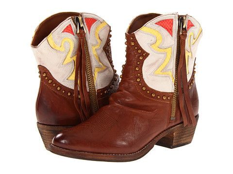 Sam Edelman Leather Shane Boots in Brown