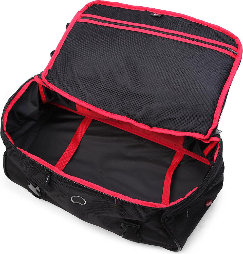 Delsey Crosstrip Cabin Duffel Bag in Black for Men