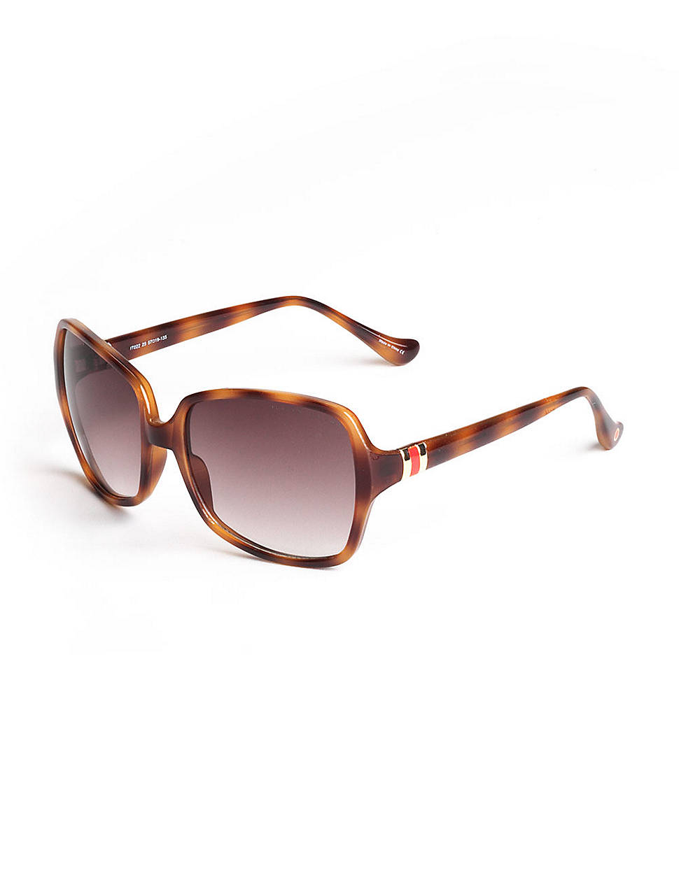 13a87319dbb Ivanka Trump Rectangular Tortoise Shell Sunglasses in Brown for Men ...
