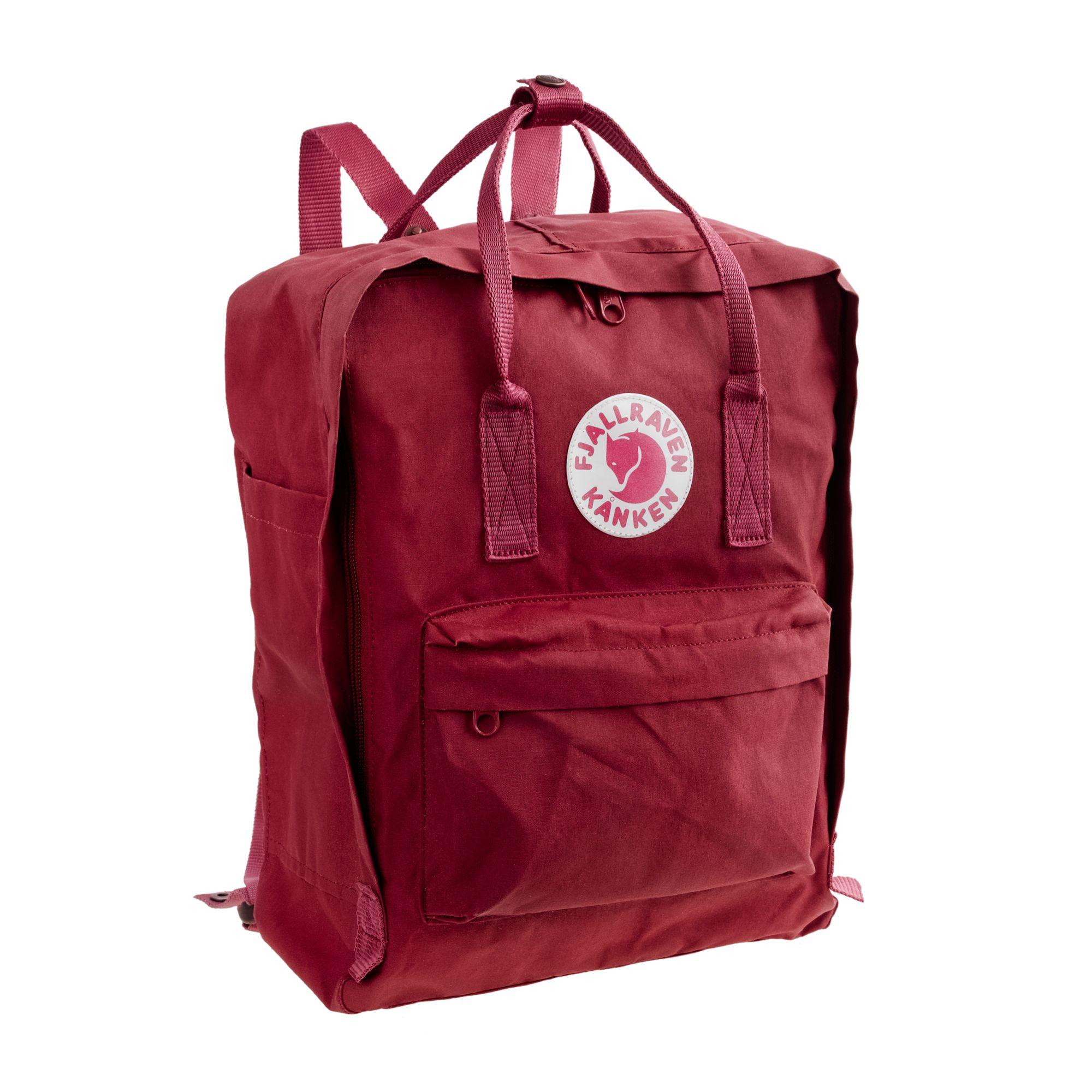 fj llr ven classic kanken backpack in red for men. Black Bedroom Furniture Sets. Home Design Ideas