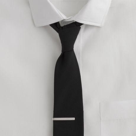 j crew waves sterlingsilver tie clip in silver for
