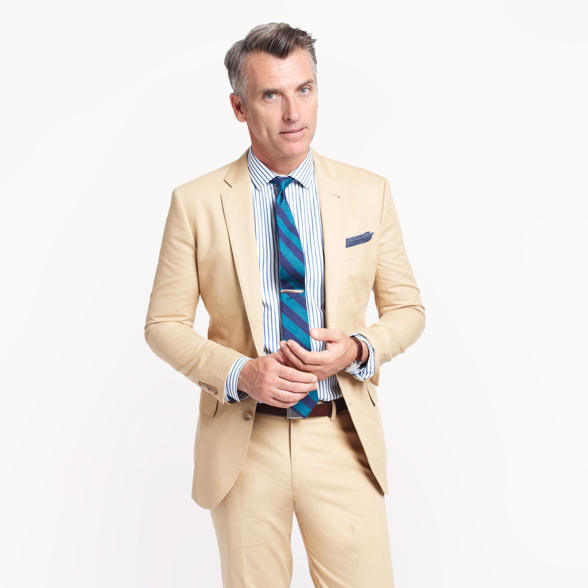 Lightweight and crisp as can be, our chino suiting will keep you stylish without breaking a sweat. Great suits begin with exceptional fabric, and this suit is no exception; it's crafted from the finest % Italian cotton that's soft yet durable. Hand-tailored in our signature slim fit, we construct the suit with a half-canvassed structure for durability and fit that conforms to your.