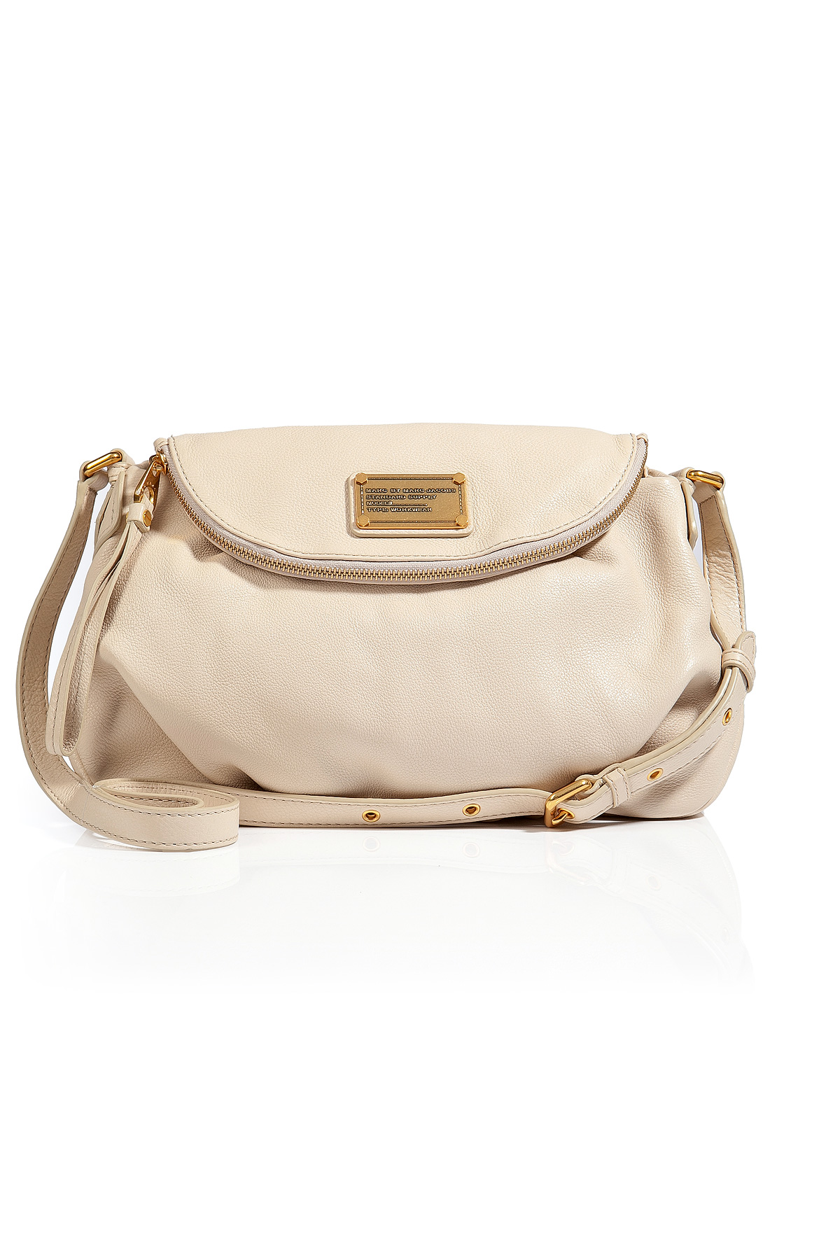 502162aff6 Lyst - Marc By Marc Jacobs Leather Natasha Bag in Stone in Natural