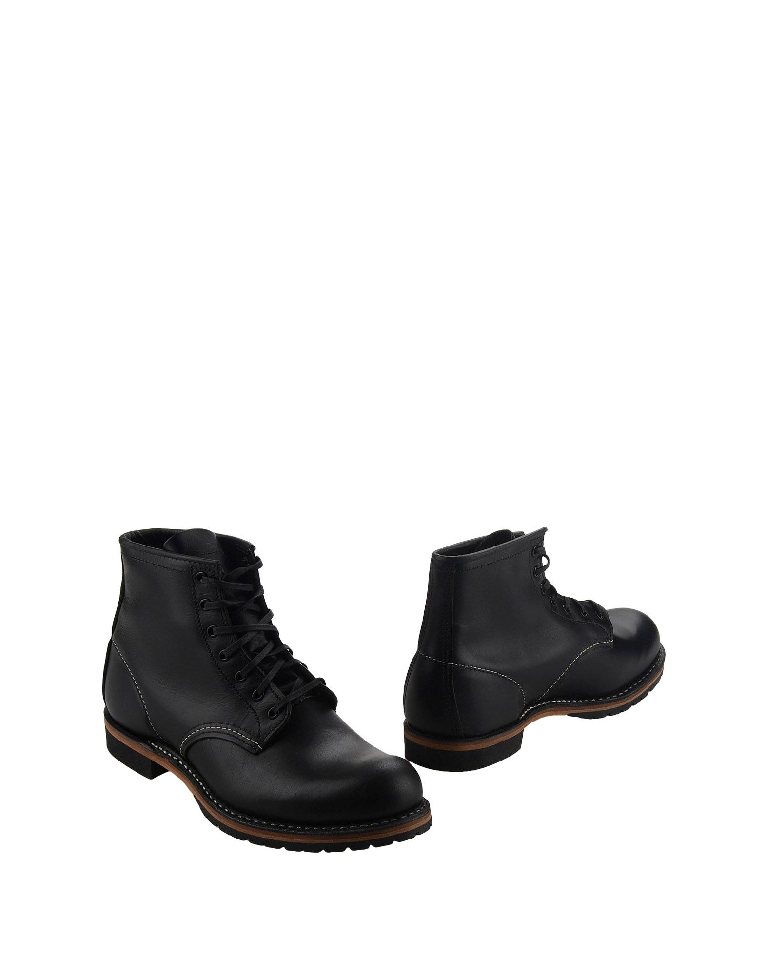 Red Wing Combat Boots In Black For Men Lyst