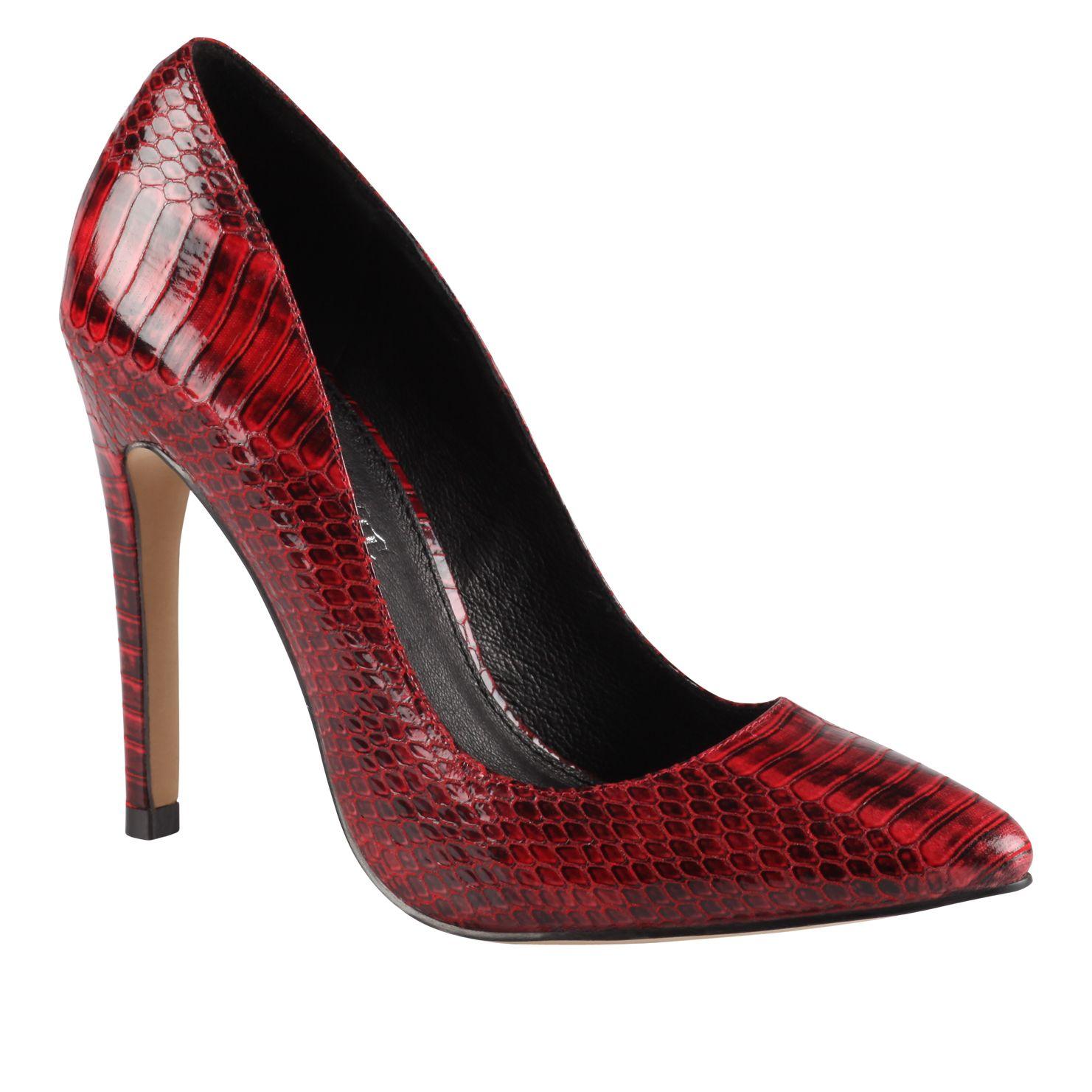 Red Court Heels