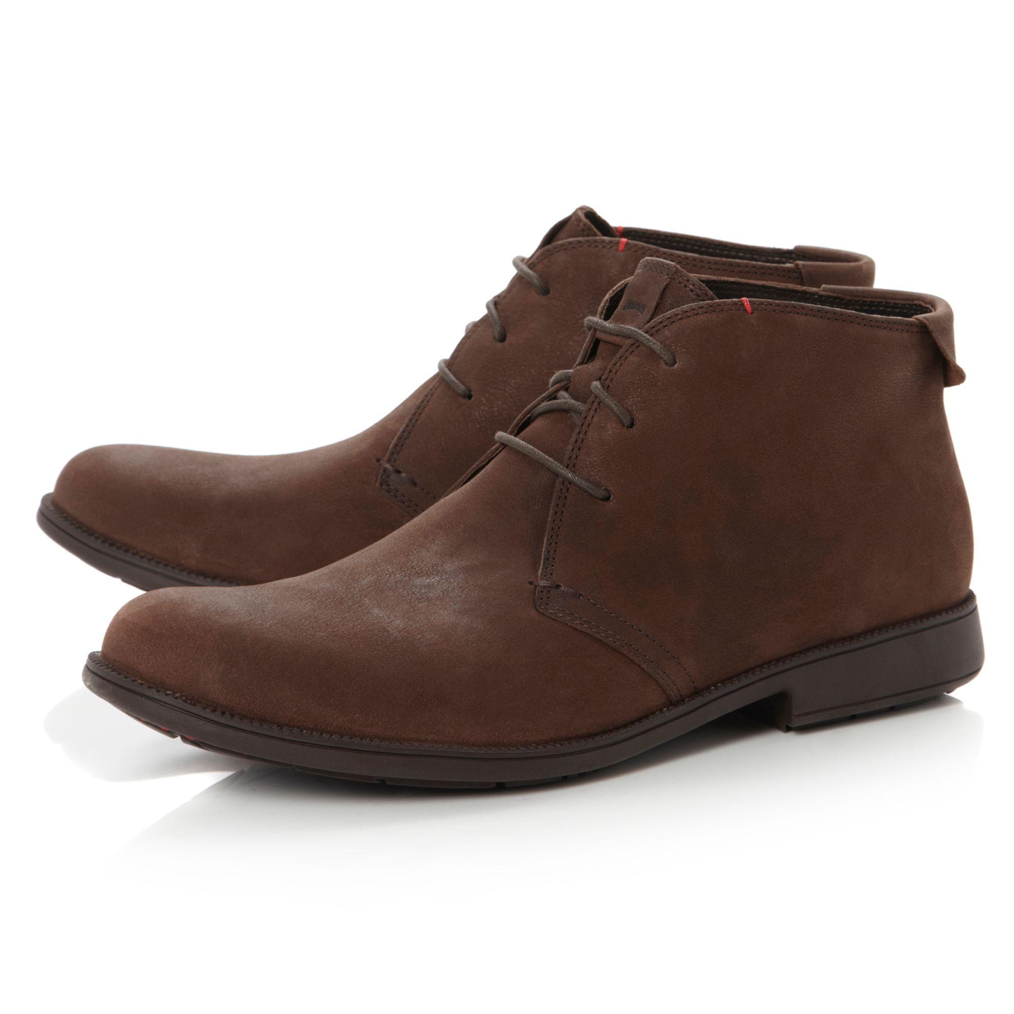 Camper Mil Toecap Casual Shoes in Brown for Men