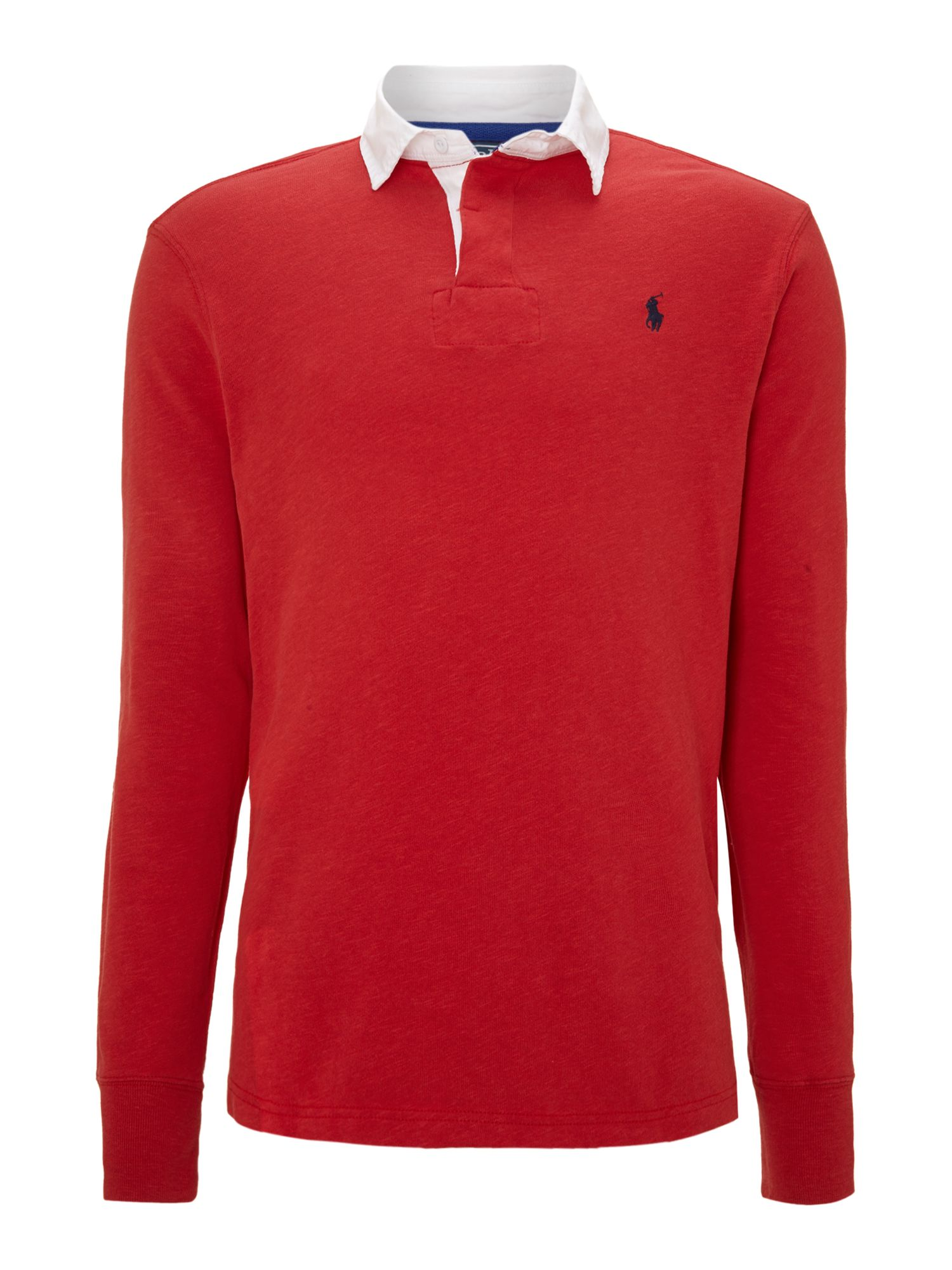 Lyst Polo Ralph Lauren Classic Custom Fit Rugby Shirt In