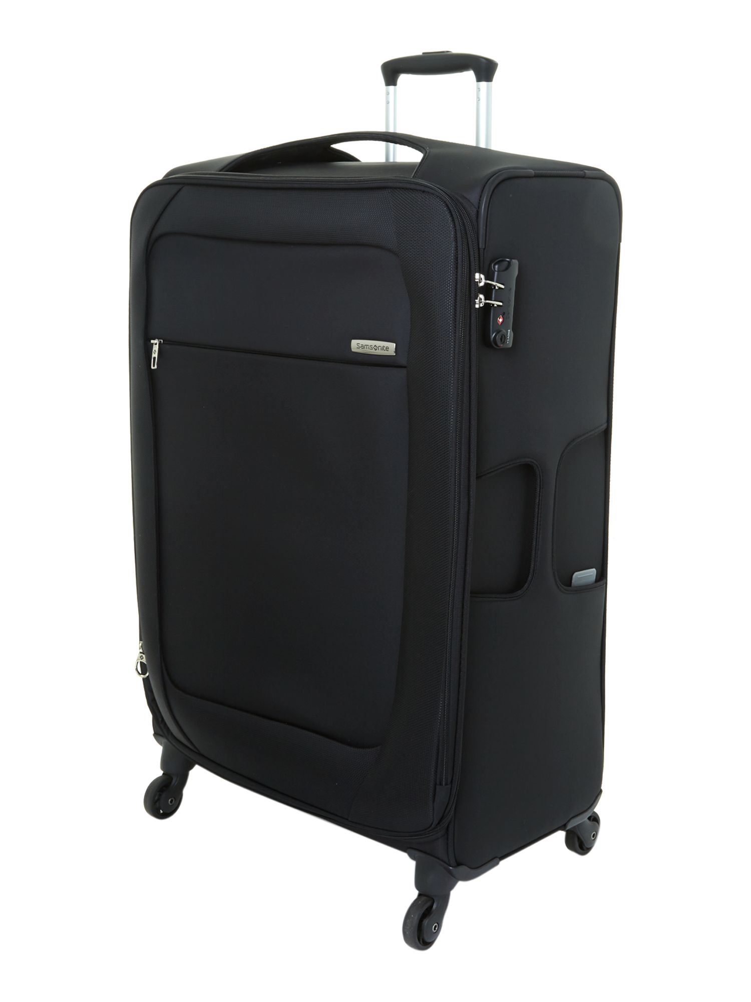 Samsonite New B-lite 4-wheel Black Large Suitcase in Brown | Lyst