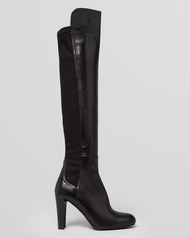 39065ff2243 Lyst - Stuart Weitzman Over The Knee Boots Highline High Heel in Black