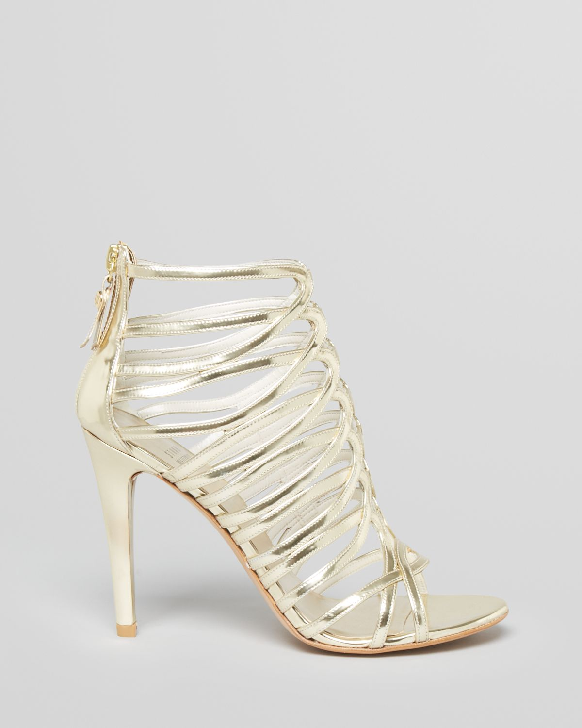 Stuart Weitzman Slingback Caged Sandals sale the cheapest WDw5y2ecW4