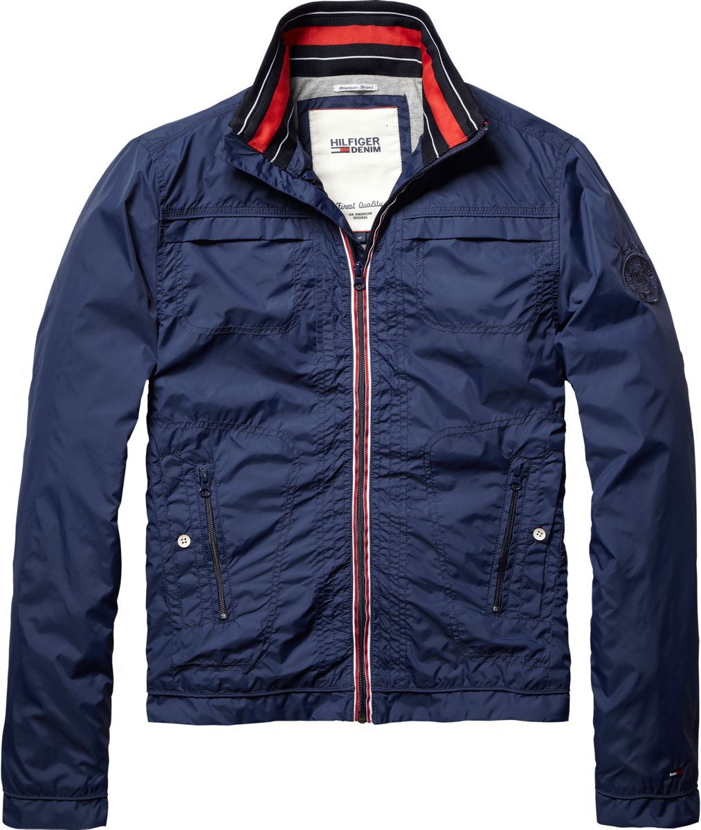 Tommy Hilfiger Carl Lightweight Jacket In Blue For Men Lyst