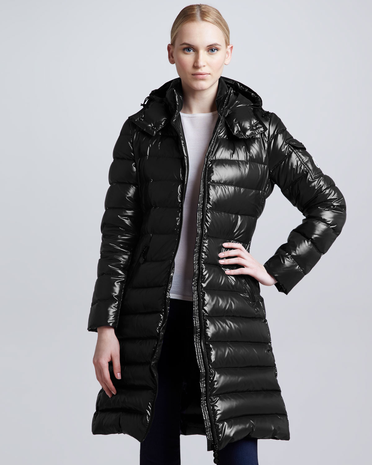 dfd57cd72 Moncler Hermine Hooded Long Puffer Coat esw-ecommerce.co.uk