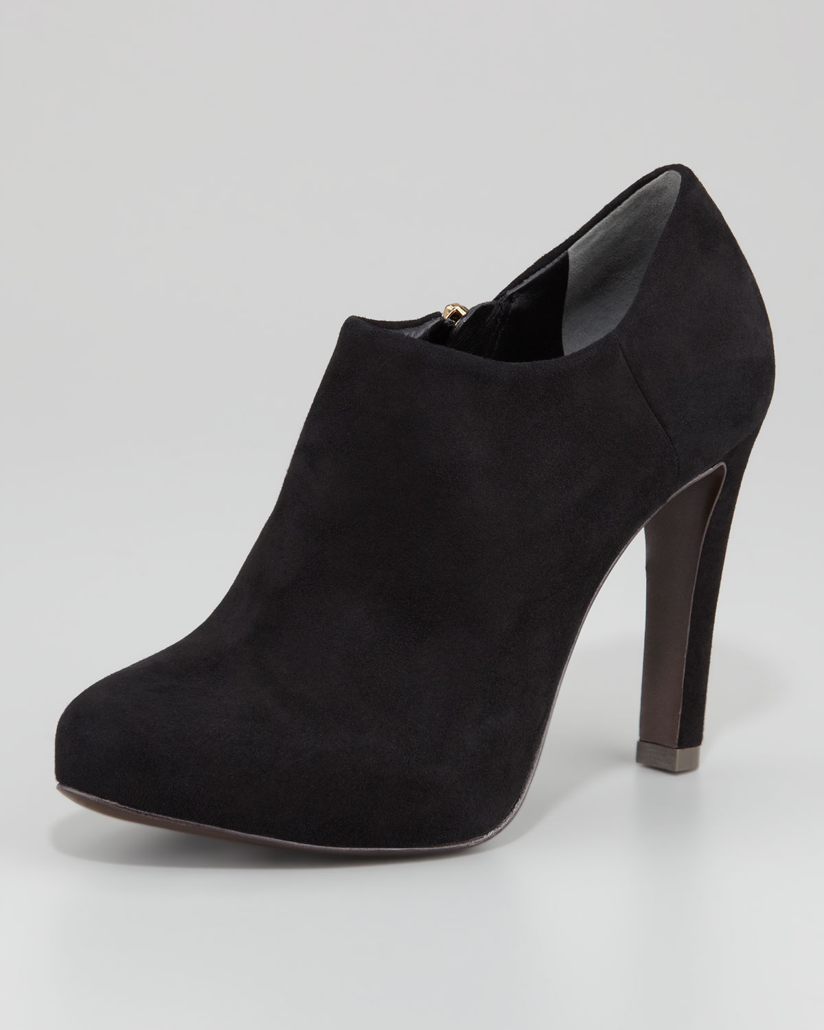 Lyst Tory Burch Malone Suede Booties In Black